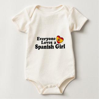 Spanish Girl Bodysuit