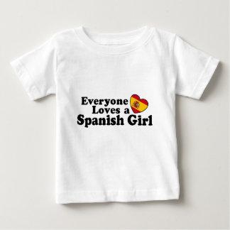 Spanish Girl Infant T-shirt