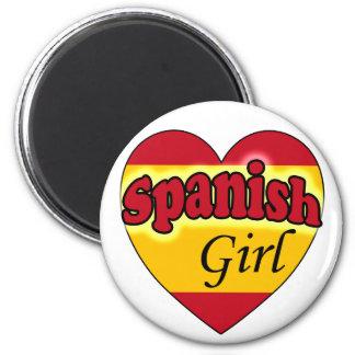 Spanish Girl Magnet
