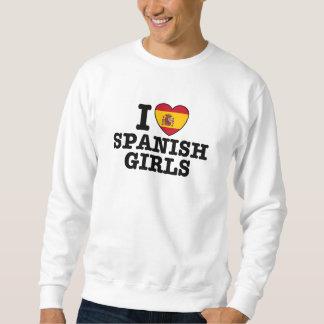 Spanish Girls Pullover Sweatshirt