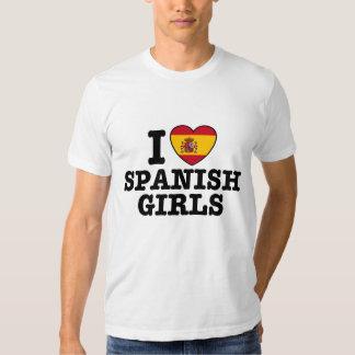 Spanish Girls Tee Shirt
