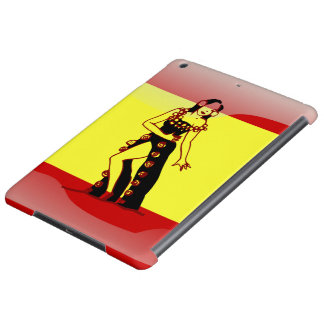Spanish glossy flag case for iPad air