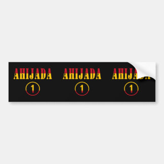 Spanish Goddaughters : Ahijada Numero Uno Car Bumper Sticker