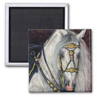 Spanish Gold - Andalusian Horse Fridge Magnets
