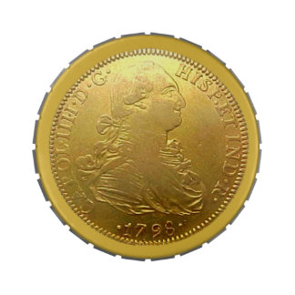 Spanish Gold Doubloon Candy Tin