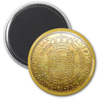 Spanish Gold Doubloon Magnet II