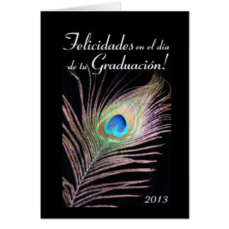 Spanish:Graduacion / 2013 Graduation Card