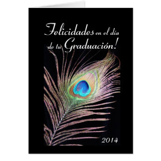 Spanish:Graduacion / 2014 Graduation Card