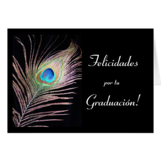 Spanish:Graduacion / Graduation Card