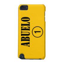Spanish Grandfathers : Abuelo Numero Uno iPod Touch (5th Generation) Cases
