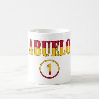 Spanish Grandfathers : Abuelo Numero Uno Coffee Mug