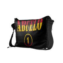 Spanish Grandfathers : Abuelo Numero Uno Messenger Bags