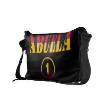 Spanish Grandmothers : Abuela Numero Uno Courier Bag