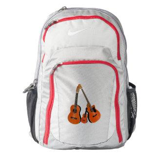 Spanish Guitar Acoustic Bass and Ukulele Nike Backpack