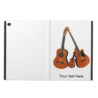 Spanish Guitar Acoustic Bass and Ukulele Powis iPad Air 2 Case