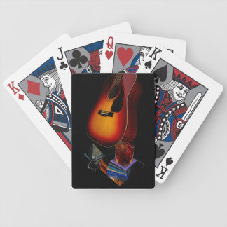 Spanish Guitar Bicycle Playing Cards