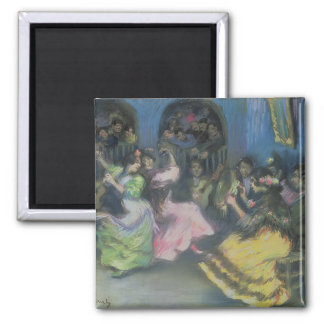 Spanish Gypsy Dancers, 1898 Fridge Magnet