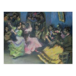 Spanish Gypsy Dancers, 1898 Postcard