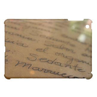 Spanish handmade manuscript #1 iPad mini case