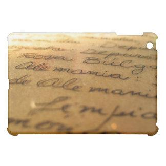 Spanish handmade manuscript #2 cover for the iPad mini