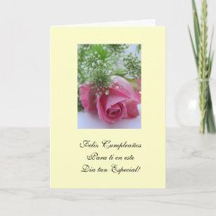 Spanish birthday cards zazzle spanish happy birthday feliz cumpleanos card m4hsunfo