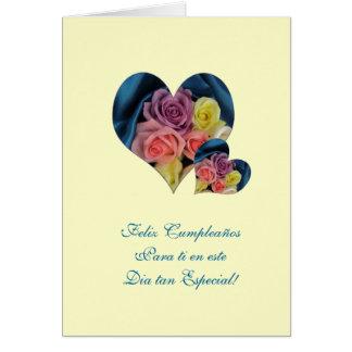Spanish: Happy Birthday/ Feliz Cumpleanos Card