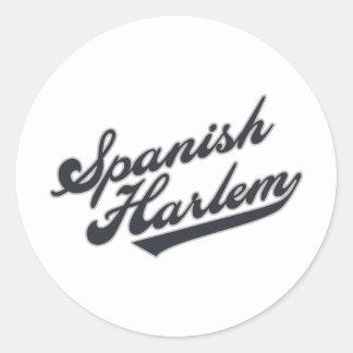 Spanish Harlem Classic Round Sticker