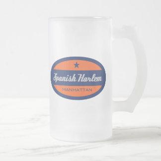 Spanish Harlem Frosted Glass Beer Mug
