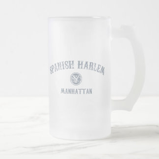 Spanish Harlem Frosted Glass Beer Mug