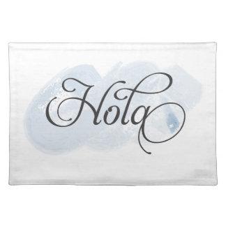 Spanish - Hola Placemats
