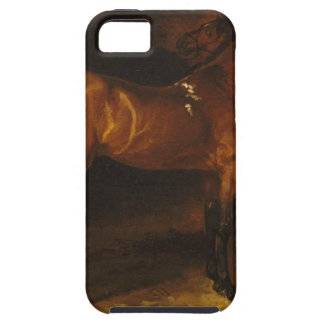 Spanish horse in a stable by Theodore Gericault iPhone SE/5/5s Case