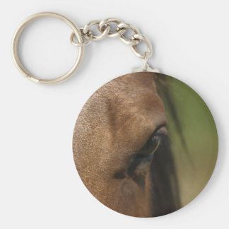Spanish Horse's Eye Equine-lover's Keychain