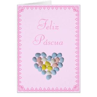 Spanish: Huevos de Pascua / Easter eggs Card