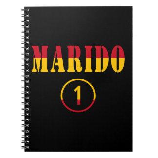 Spanish Husbands : Marido Numero Uno Spiral Notebook