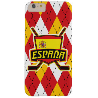 Spanish Ice Hockey Flag Phone Cover