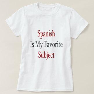 Spanish Is My Favorite Subject T-Shirt