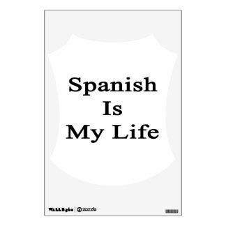 Spanish Is My Life Wall Skin