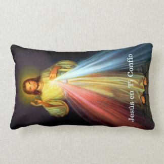 Spanish Jesus Misericordia Almohada Prayer Pillow