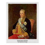 Spanish Justice Minister By Francisco De Goya Print