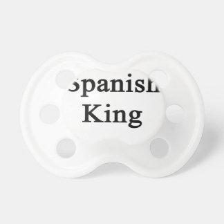 Spanish King Pacifier