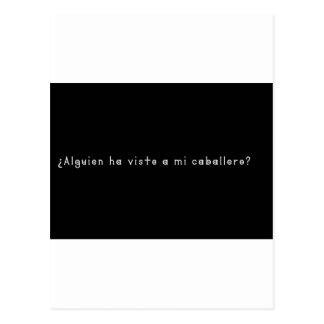 Spanish-Knight Postcard