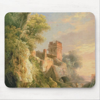 Spanish landscape mouse pad