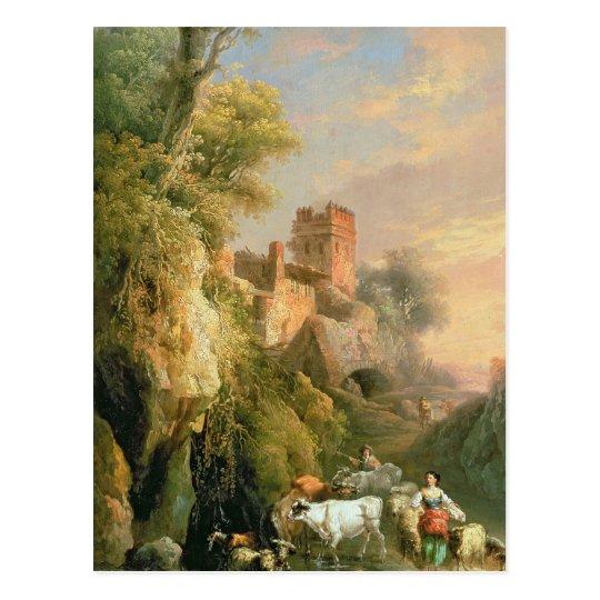 Spanish landscape postcard