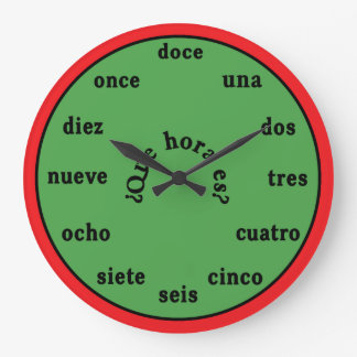 Spanish Wall Clocks Zazzle