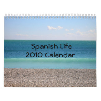 Spanish Life 2010 Calendar