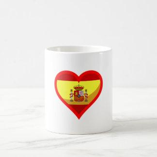 Spanish love coffee mugs