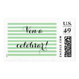 Spanish message stamp - Customize
