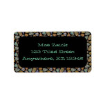 Spanish & Mexican Tile Mosaic Custom Address Label