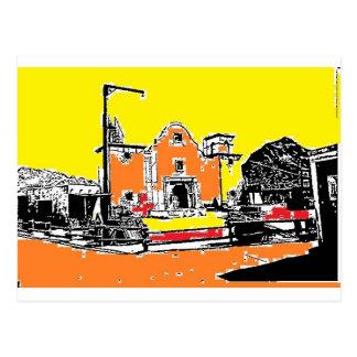 Spanish Mission in Sunshine Post Card