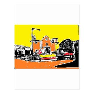 Spanish Mission in Sunshine Postcards